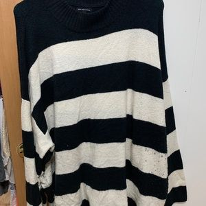 Striped sweater who what wear 4X